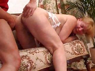 blond mom receive her butt reamed hard