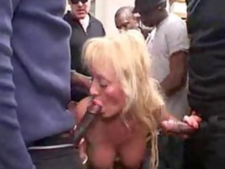 french breasty blond older bang