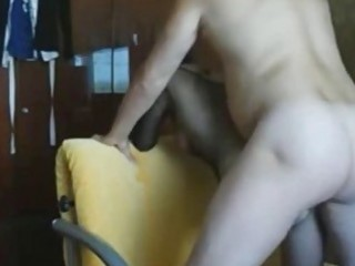 non-professional wife receives anal creampie