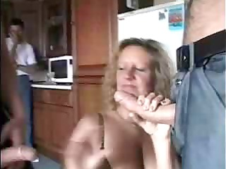 dirty granny getting filled