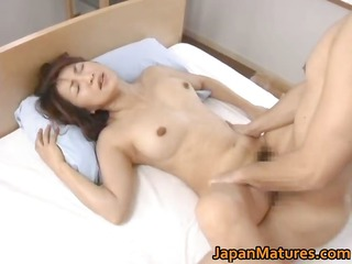 lustful japanese older babes engulfing