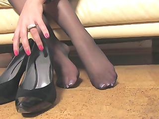 nice woman nice nylonfeet 6