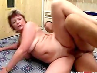 german grandmother get facial