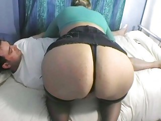 fabulous blond mother i sucks large dick in black