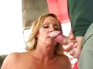slutty older wife acquire double facial