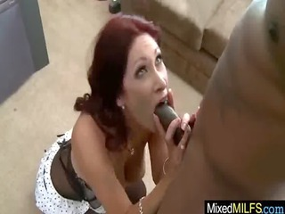 sexy milfs receive drilled hard by black dicks