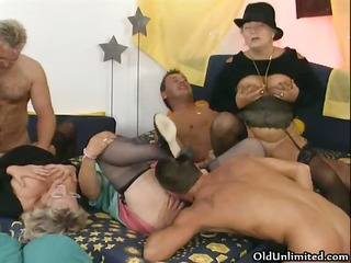 wicked old woman goes eager getting her part1