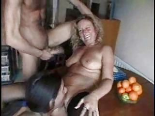 mature whores love three-some nice group sex