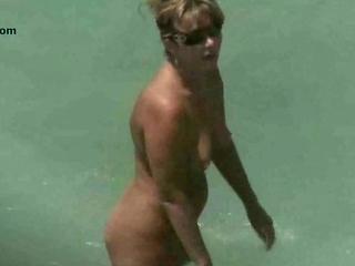 nude beach aged voyeur