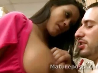 mature mother i bent over takes it is from behind