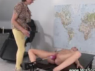 sex machine bonks wet mature bawdy cleft
