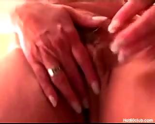 hardcore older granny perverted sex-toy fucking