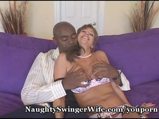 giant dark cock stuffs my lascivious wife