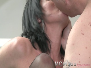 mamma aged d like to fuck takes charge of her stud