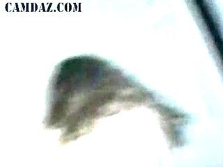 tenderfoot cutie in live grandstand play hammering
