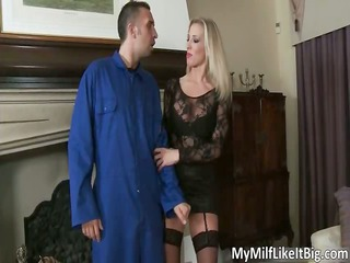 blonde bitch with admirable boobs rebecca moore