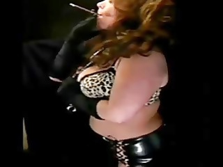 sexy aged in leather smokin solo