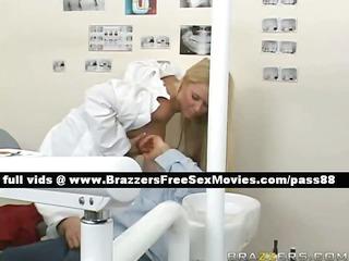 sweet blonde dentist