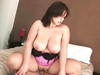 large breasted mother i hoe rides her lovers huge