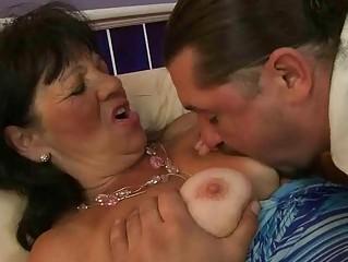 granny enjoying hard fucking