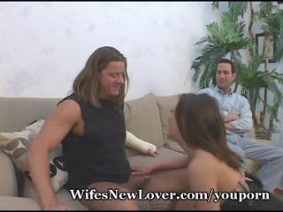 sloppy pop in wifes face