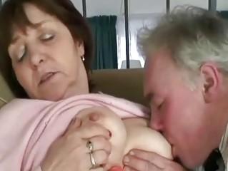 busty aged slapper renata likes a hard pounder