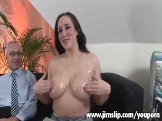 breasty british mother i getting shagged