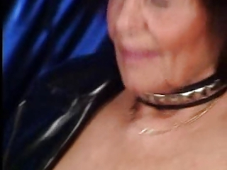 pierced granny pounded