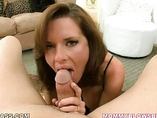 older dark brown with huge melons in sexy
