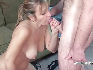 curvy blond liisa engulfing a pounder