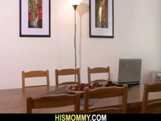slutty mommy finds her sons girlfriend tied up