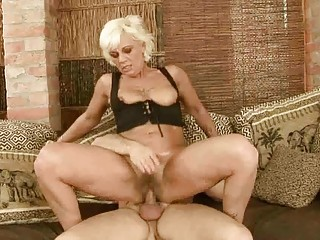 sexy granny acquires her shaggy bawdy cleft