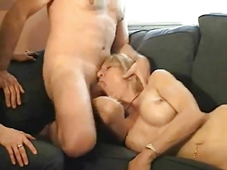 wife lets ally engulf him off