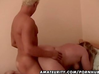 bulky amateur aged wife drilled by a juvenile jock