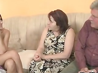 bf finds his gf fucking his family