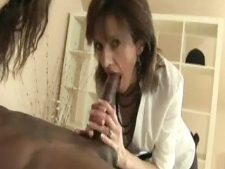 aged stocking sluts greedily engulf dark dick