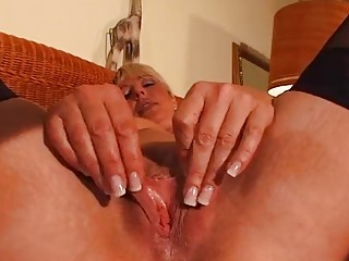 older blonde enjoys her own body dbm episode