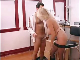 breasty aged secretary gets screwed in office