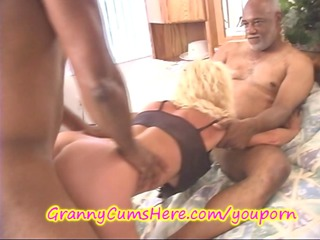 big darksome cock up grannys booty