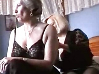 grannies play in underware and stockings