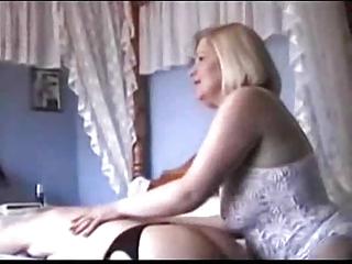 grannies in underware and stockings