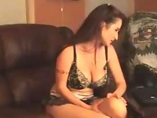 breasty milf on web camera