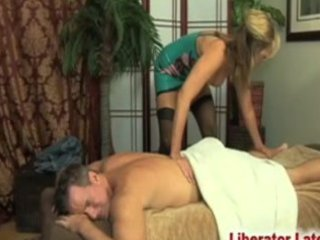 """guy""""massaged"""" by d like to fuck in latex"""