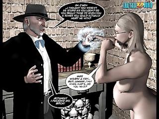 3d comic: desires of the flesh