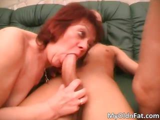 wicked redhead milf corpulent slut engulfing part5