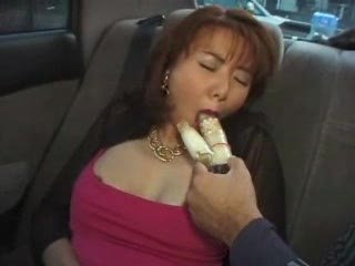 angel hairy asian milf permeated with