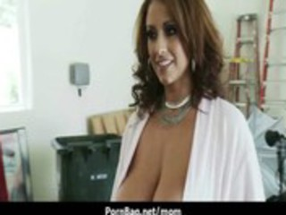 large meatballs mamma getting nailed very hard 36