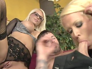 sexually excited mamma and her busty daughter