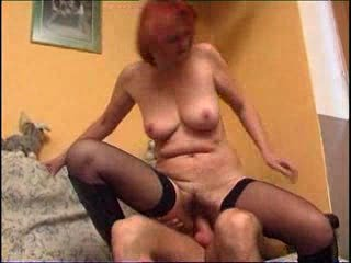 redhead mature and younger man m115