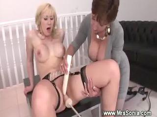 busty mother i helps lady reach an orgasm